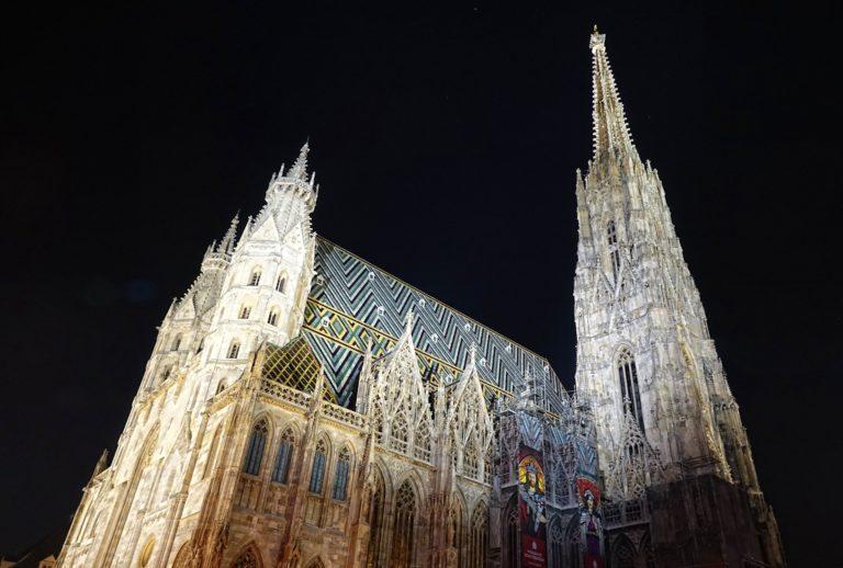 Photo of Stefansdom in Vienna, Austria.