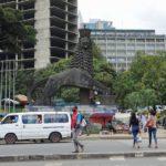 Photo of Lion of Judah monument in Addis Ababa, Ethiopia
