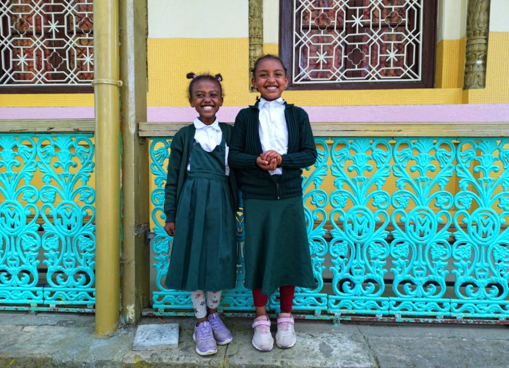 Photo of friendly locals in Addis Ababa, Ethiopia