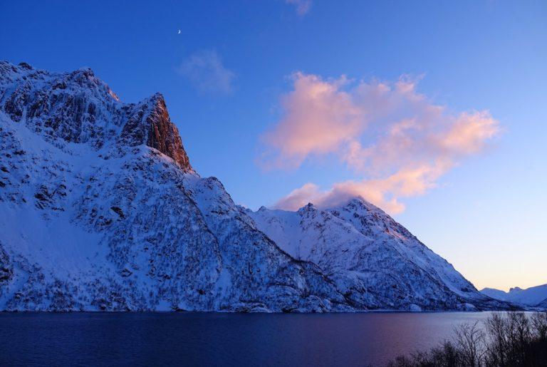 Photo of Higravtindan in Lofoten, Norway
