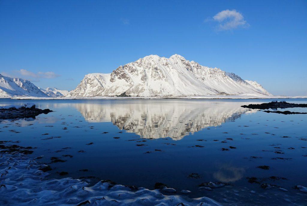 Photo of winter in Lofoten