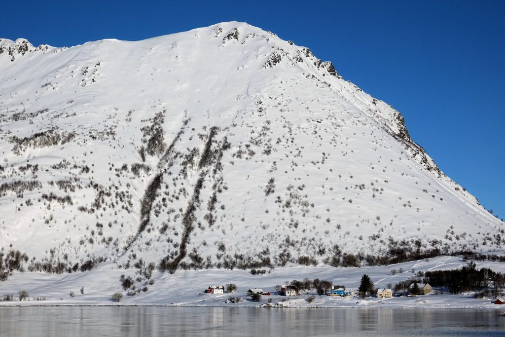 Photo of Steira settlement in Lofoten, Norway