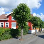 Photo of Skippergaten, a street in Stavern, Norway.