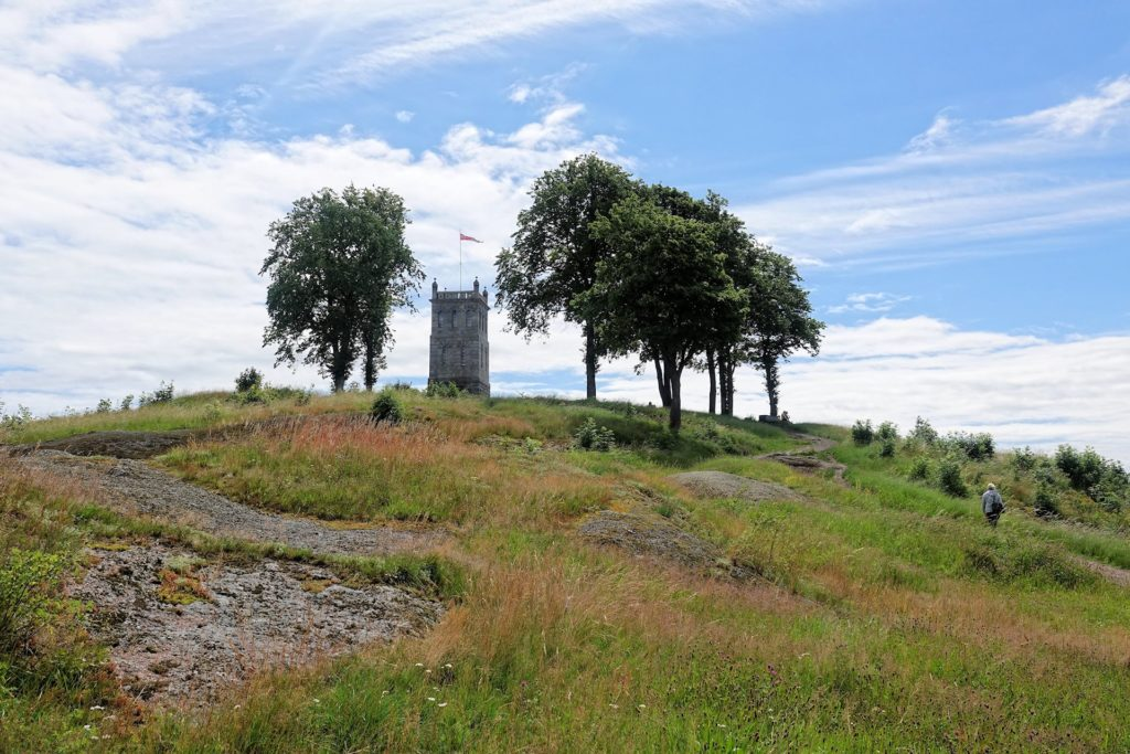 Photo of Slottsfjell in Tønsberg, Norway.