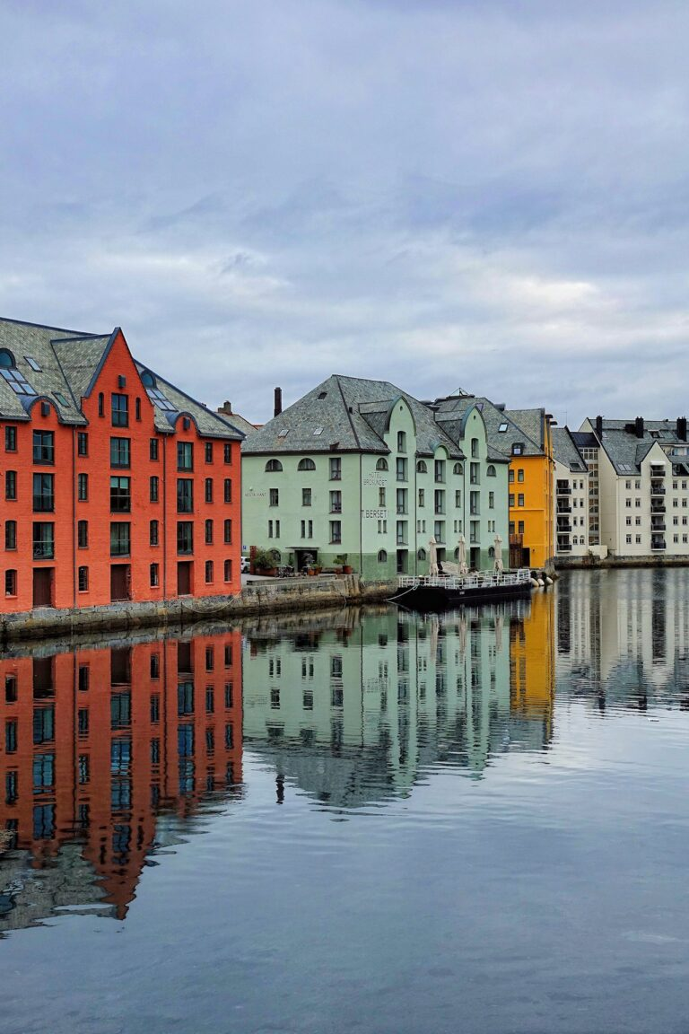 Photo of Hotel Brosundet in Ålesund, Norway.