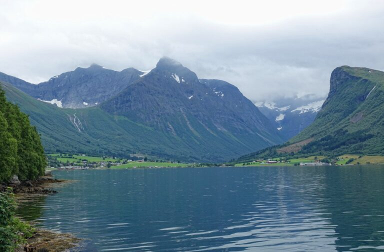 Photo of Innstranda, Norway.