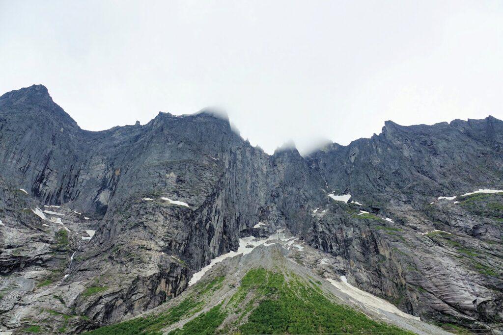 Photo of Trollveggen, Norway.