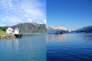 When to visit Lofoten, Norway - Summer or Winter.