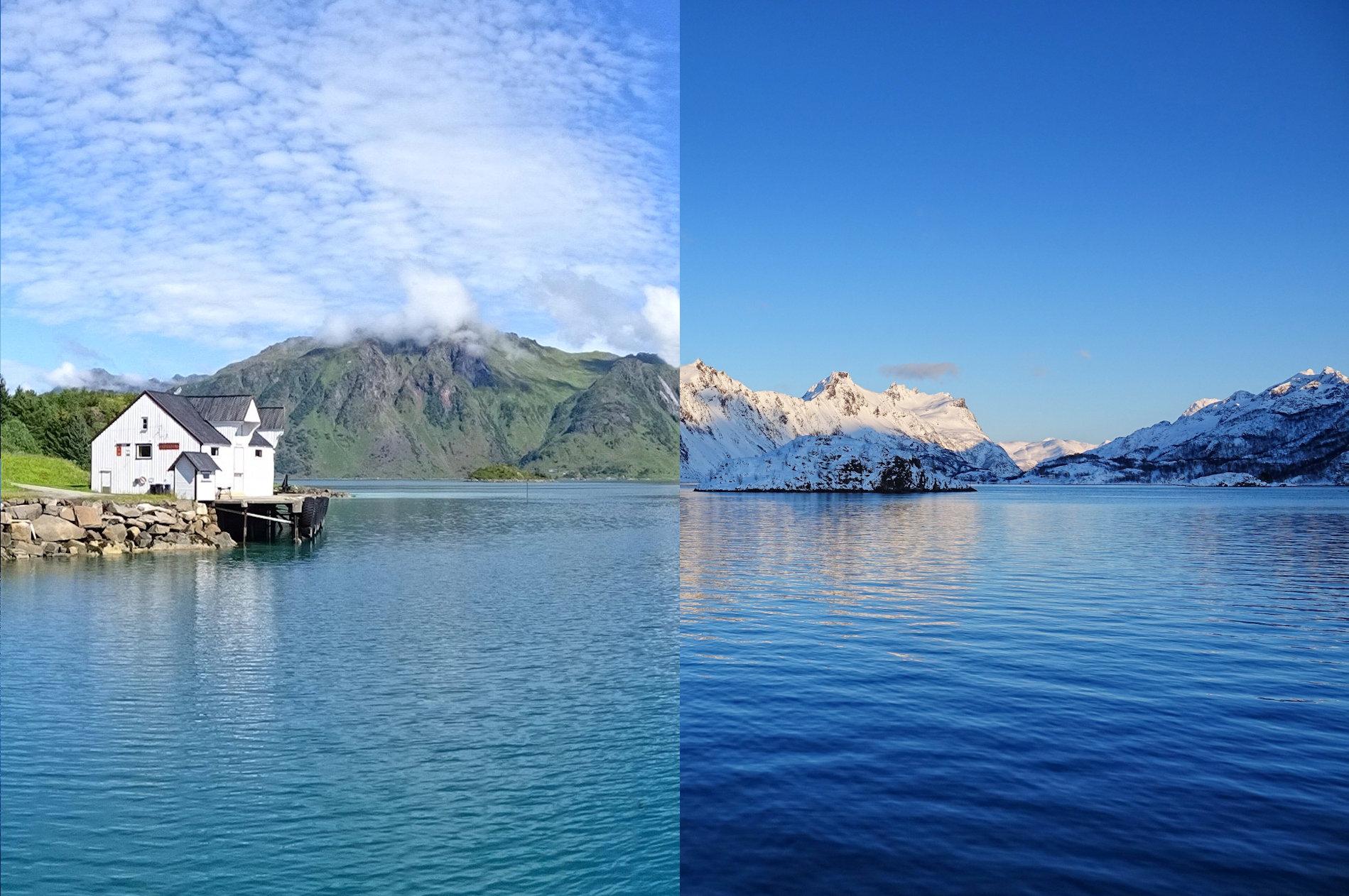 When to visit Lofoten, Norway - Summer or Winter.