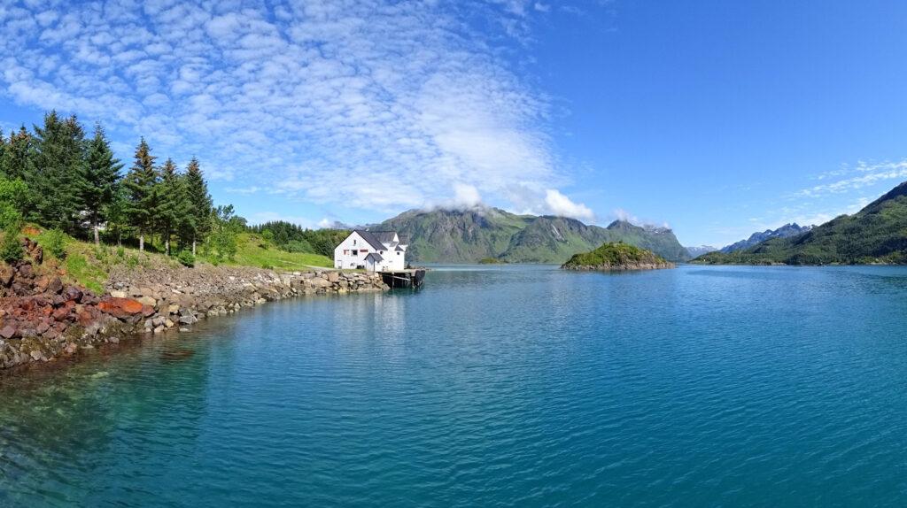 Trollholmen, Lofoten in summer.