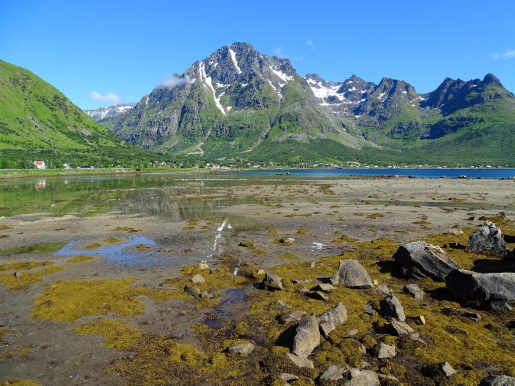 Laupstad, Lofoten in summer.