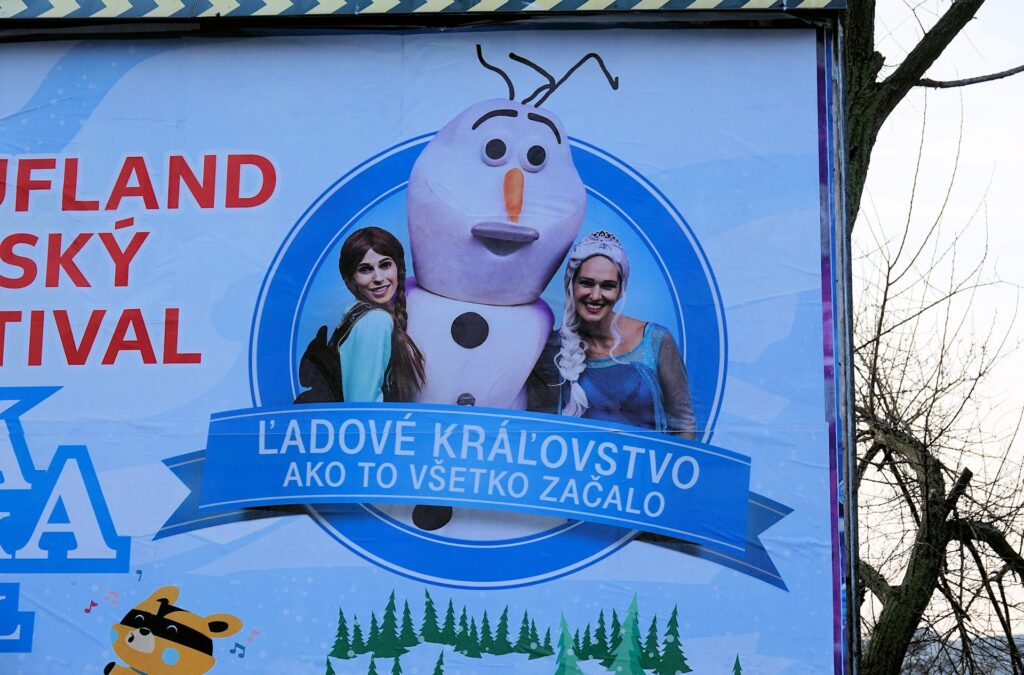 Photo of Eastern European version of Frozen.