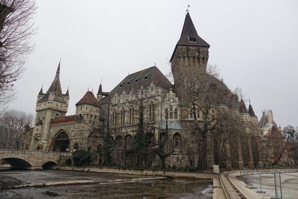 Photo of Vajdahunyad Castle in Budapest, Hungary