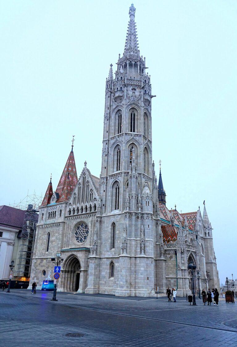 Photo of Matthias Church in Budapest, Hungary