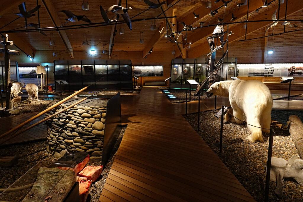Photo of Svalbard Museum in Longyearbyen, Norway.