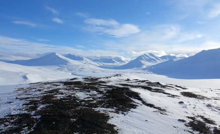 Photo of view from Brentskarhaugen, a viewpoint with views towards several different valleys.