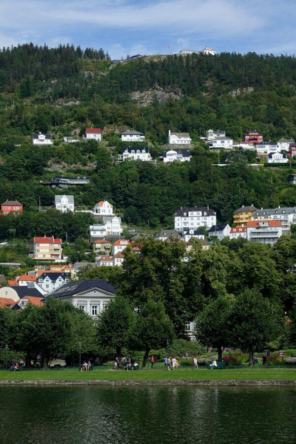 Photo from Lille Lungegårdsvannet in Bergen, Norway.