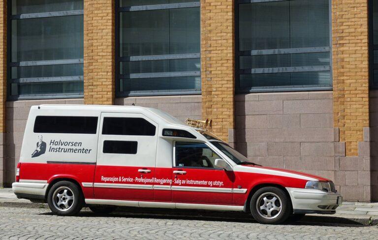 Photo of instrument ambulance in Bergen, Norway.
