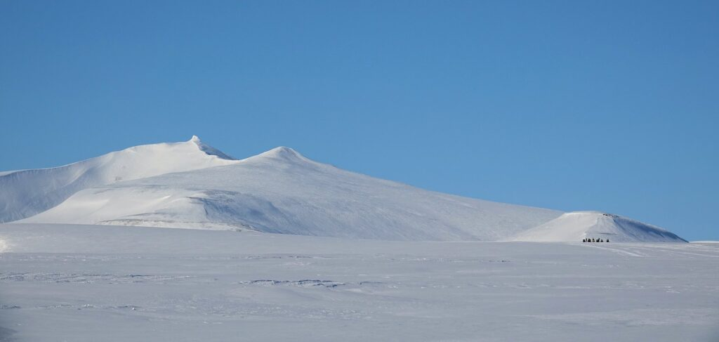 Photo from Königsbreen on Svalbard, Norway.