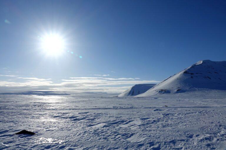 Photo of Kapp Johannesen on the East Coast, Svalbard.